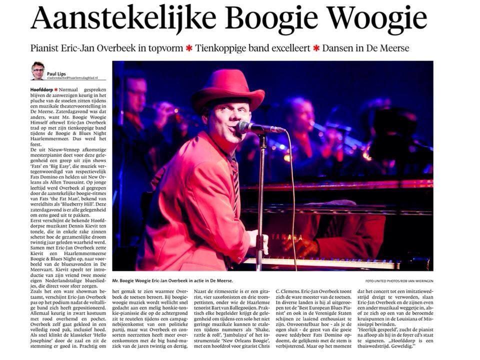 Aanstekelijke Boogie Woogie